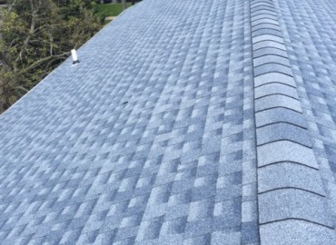 Ridge Vent installed on residential home by Four Seasons Roofing