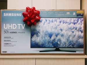 The winner of our Autumn Sweepstakes will win this brand new 50-inch LED 4K Smart TV!